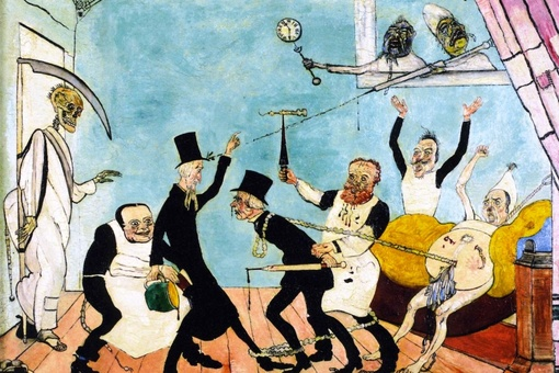 The Artist Who Depicted Life as a Macabre Carnival