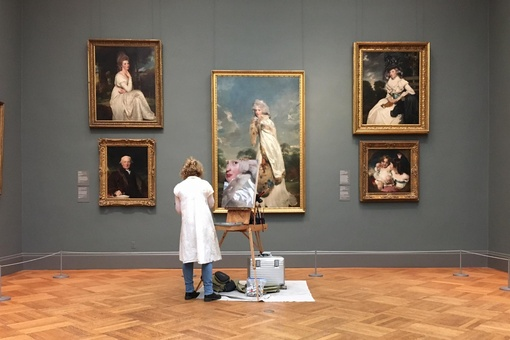 Why Artists Are Allowed to Copy Masterpieces from the World's Most Prestigious Museums