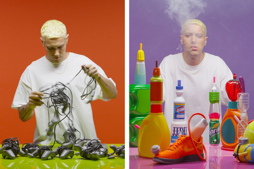 Alex Da Corte Gives Slim Shady an Art-World Comeback