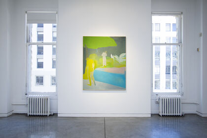 Outside In - Recent Paintings Maybaum Gallery