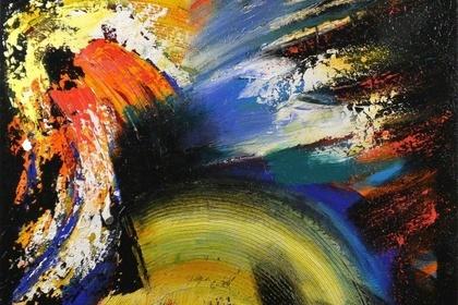 Brinda Pamulapati: Texture In Colors