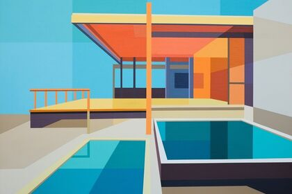 """Andy Burgess Booksigning """"Modern American Houses"""" New Work 