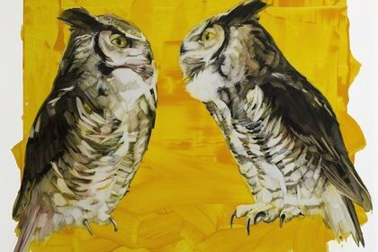 The Gloaming: Owls in Art