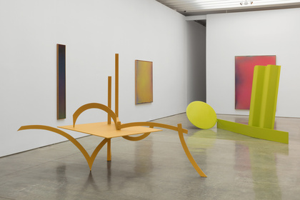 Caro & Olitski: 1965 - 1968, Painted Sculptures and the Bennington Sprays