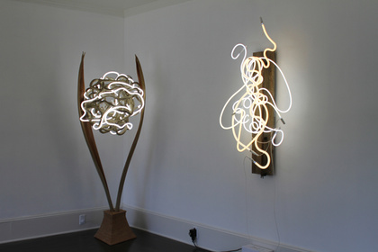 Neon Sculpture: Selected works by Lisa Schulte