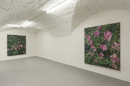 Julian Schnabel: 6 Rose Paintings