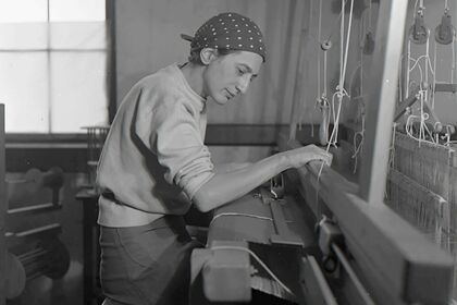 Anni Albers: Touching vision