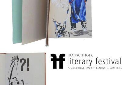 special literary festival sketchbooks | lisette forsyth