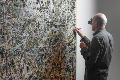 Jackson Pollock's Number 1, 1949: A Conservation Treatment