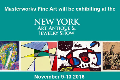 NY Fall Show Art Antiques and Jewelry 2016