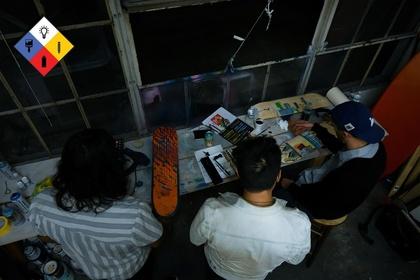 Ewkuks presents Art-Chemists SK8 Show