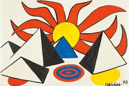 Calder on Paper: 1960-1976