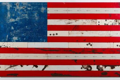 Stars & Stripes | New Flags from Aspen Artist MARK CESARK