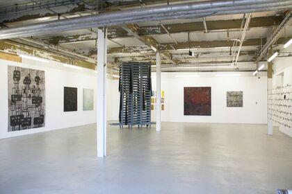 Group exhibition Ton Slits, Vera Hilger en Klaus Dauven
