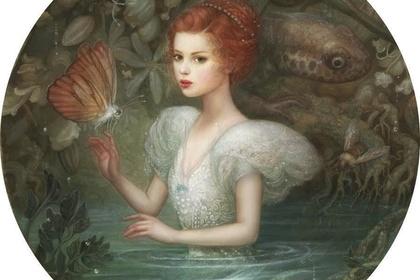 """Annie Stegg Gerard """"Halcyon Garden"""""""
