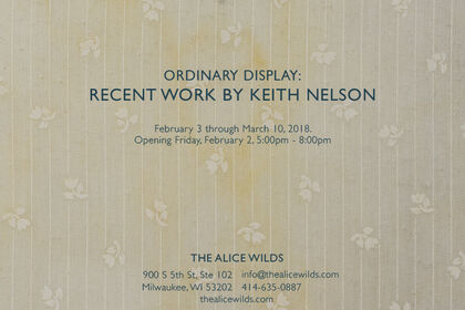KEITH NELSON: Ordinary Display