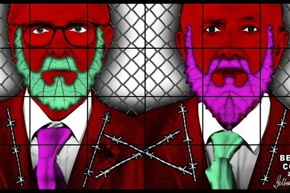 Gilbert & George: THE BEARD PICTURES