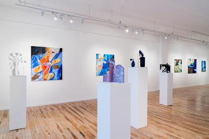The Far Off Blue Places : Anjuli Rathod + Vanessa Brown
