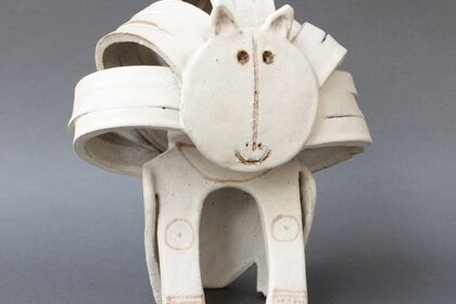 Italian Modern Ceramics by Bruno Gambone