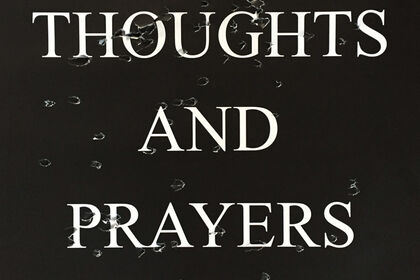 "SARAH MAPLE, ""THOUGHTS AND PRAYERS"""