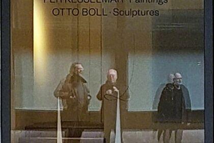 PER KESSELMAR - Paintings & OTTO BOLL - Sculptures