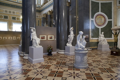 """Created by a Hand with but a Chisel Armed…"" Sculpture in St Petersburg's Palaces in the 19th Century"