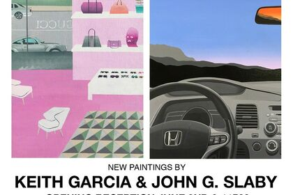 THE PATH OF MOST RESISTANCE New Paintings by John G. Slaby & Keith Garcia