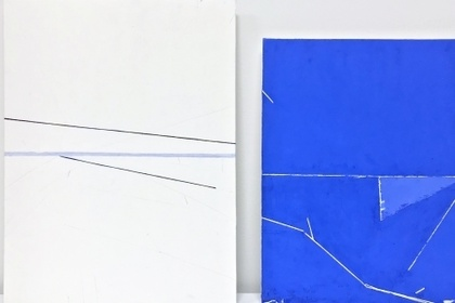 EVE ASCHHEIM,  'T' SPACE PAINTINGS