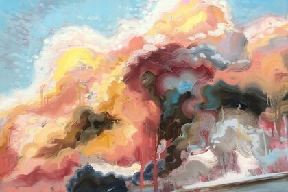 Amorphous: Cloudscape Paintings