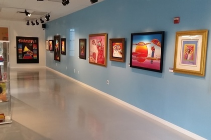 Peter Max Exhibition: Celebrating Life In Color