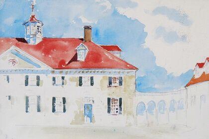 Adam Van Doren: Homes of the American Presidents