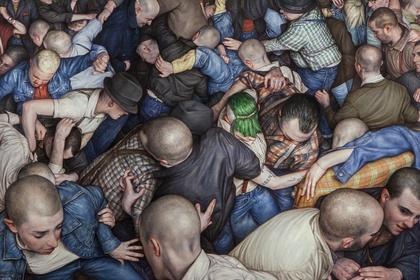 Mosh Pit Paintings 2010 – 2018