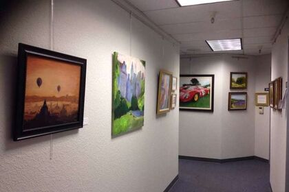 Silicon Valley Open Studios - Art Center of Redwood City and San Carlos