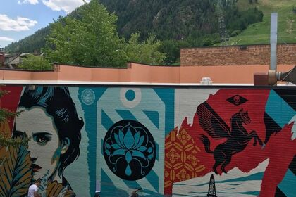Shepard Fairey | Ideal Power | Aspen Mural and Exhibition