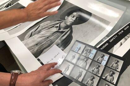 Jean-Michel Basquiat - Tokyo 1983. Photographs by Yutaka Sakano.