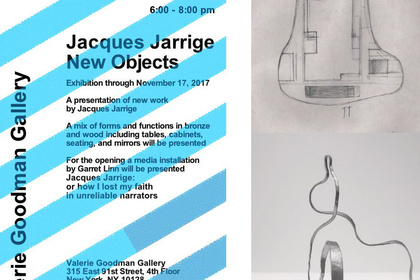 JACQUES JARRIGE - NEW OBJECTS