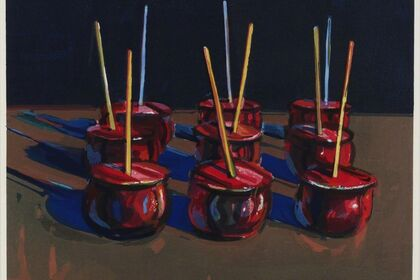 Wayne Thiebaud: Works on Paper