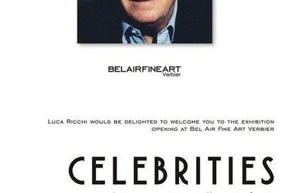 Celebrities, Photo collection by Massimo Gargia @Belairfineart Verbier Switzerland