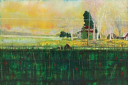 Peter Doig   Cabins and Canoes: The Unreasonable Silence of the World