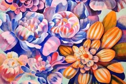 """Natsuki Machida Solo Exhibition """"Flowers and eyebrow"""""""