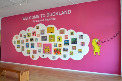 Welcome To Duckland by Laurina Paperina