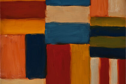 The First Solo exhibition in Hong Kong-Sean Scully: Standing on the Edge of the World