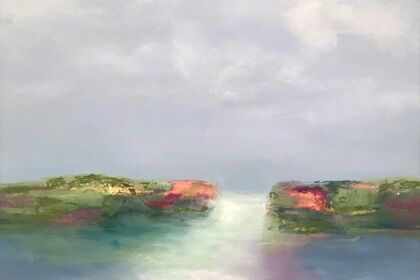 Abstract Landscapes by Ginger Fox