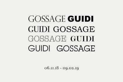 GOSSAGE GUIDI / GUIDI GOSSAGE