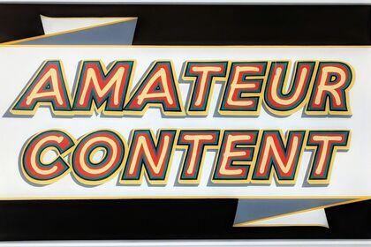 Amateur Content