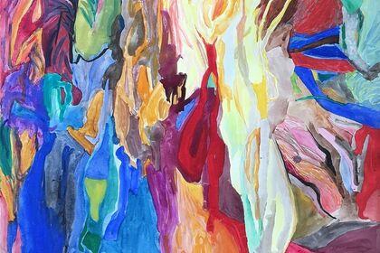 Amaranth Ehrenhalt:  Works on Paper 1957-1969