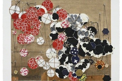 Jacob Hashimoto: Another Cautionary Tale Comes to Mind (but immediately vanishes)