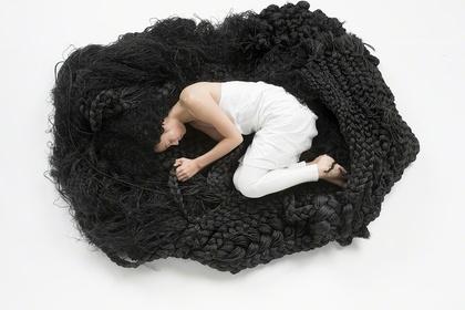 Yuni Kim Lang | Comfort Hair | Frost Art Museum, Miami