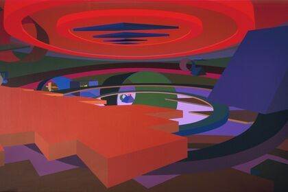 Al Held Luminous Constructs: Paintings and Watercolors from the 1990s