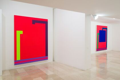 Peter Halley - New Paintings: Associations, Proximities, Conversions, Grids.